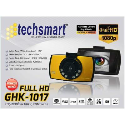 Techsmart GHK-1017 Araç İçi Kamera
