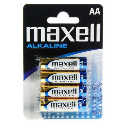 Maxell Lr06 4lü Pk. Alkalın Kalem Pil-4lü (kt.12pk) 21/01 Pil / Şarj Cihazı