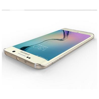 Microsonic Samsung Galaxy S6 Edge+ Plus Kılıf Transparent Soft Mavi Cep Telefonu Kılıfı