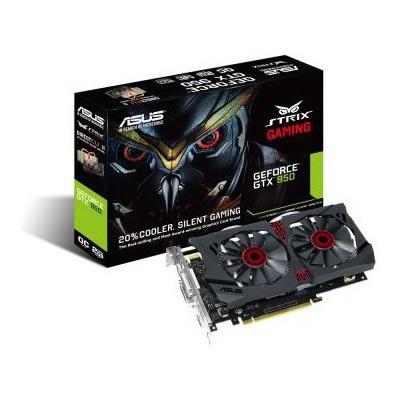 Asus GeForce GTX 950 2G OC DirectCU2 Strix Ekran Kartı