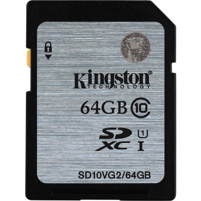 Kingston 64gb Sdxc C10 Uhsı Sd10vg2/64gb SDHC