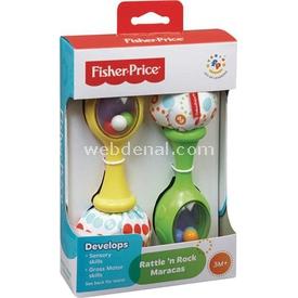Fisher-price Fisher Price Neşeli Marakas Dişlik & Çıngırak