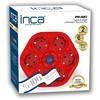 Inca IPW-06K2 2 Metre %100 Türk Tasarım 6'LI Oval Akım Korumalı Işıklı Priz Kırmıız Ses ve Görüntü Kabloları