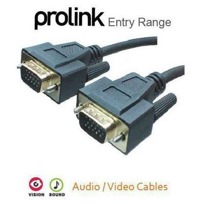 Prolink Tpb002-0300 Vga - Vga Kablo, 3 M Ses ve Görüntü Kabloları