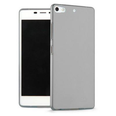 Microsonic General Mobile Discovery Elite Plus Kılıf Transparent Soft Siyah Cep Telefonu Kılıfı