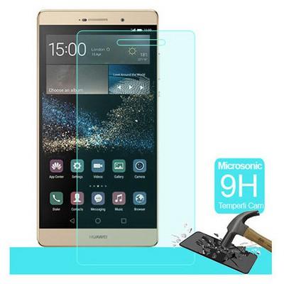 Microsonic Huawei Ascend P8 Max Temperli Cam Ekran Koruyucu Kırılmaz Film Ekran Koruyucu Film