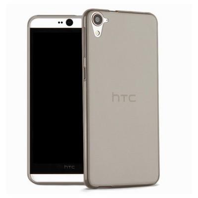 Microsonic Htc Desire 826 Kılıf Transparent Soft Siyah Cep Telefonu Kılıfı