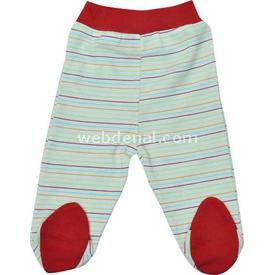 Sebi Bebe 52040 Popo Nakışlı Pantolon Kırmızı 0 Ay (50-56 Cm) Pantolon & Şort