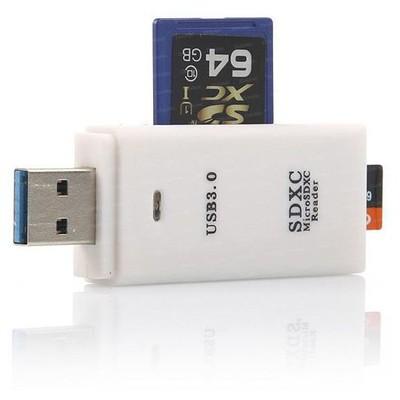 Dark Dk-ac-ucr302w Usb 3.0  Sd/micro Sd Destekli - Beyaz Kart Okuyucu