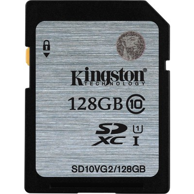 Kingston 128gb Sdxc Class 10 Sd10vg2/128gb SDHC