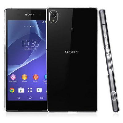 Microsonic Sony Xperia Z3+ Plus Kılıf Kristal Şeffaf Cep Telefonu Kılıfı