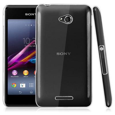 Microsonic Sony Xperia E4g 4.7'' Kılıf Kristal Şeffaf Cep Telefonu Kılıfı
