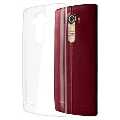 Microsonic Lg G4 Kılıf Kristal Şeffaf Cep Telefonu Kılıfı