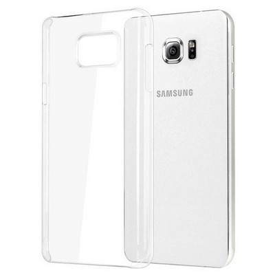 Microsonic Samsung Galaxy Note 5 Kılıf Kristal Şeffaf Cep Telefonu Kılıfı