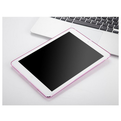 Microsonic Ipad Air 2 Kılıf Transparent Soft Pembe Tablet Kılıfı