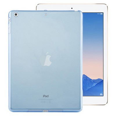 Microsonic Ipad Air 2 Kılıf Transparent Soft Mavi Tablet Kılıfı