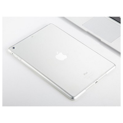 Microsonic Ipad Air 2 Kılıf Transparent Soft Beyaz Tablet Kılıfı