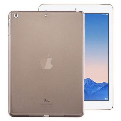 Microsonic Ipad Air 2 Kılıf Transparent Soft Siyah Tablet Kılıfı