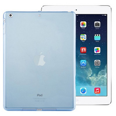 Microsonic Ipad Air Kılıf Transparent Soft Mavi Tablet Kılıfı