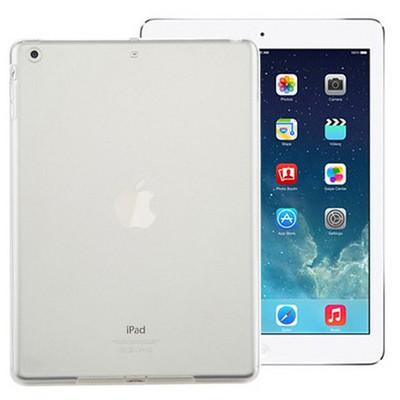 Microsonic Ipad Air Kılıf Transparent Soft Beyaz Tablet Kılıfı