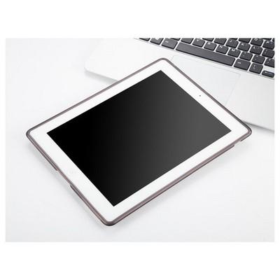 Microsonic Ipad 2 & 3 & 4 Kılıf Transparent Soft Siyah Tablet Kılıfı
