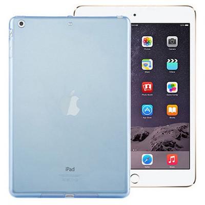 Microsonic Ipad Mini 3 & 2 & 1 Kılıf Transparent Soft Mavi Tablet Kılıfı
