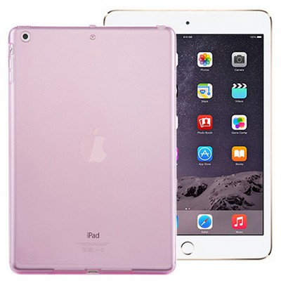 Microsonic Ipad Mini 3 & 2 & 1 Kılıf Transparent Soft Pembe Tablet Kılıfı