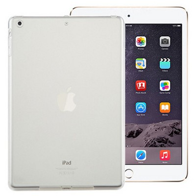 Microsonic Ipad Mini 3 & 2 & 1 Kılıf Transparent Soft Beyaz Tablet Kılıfı