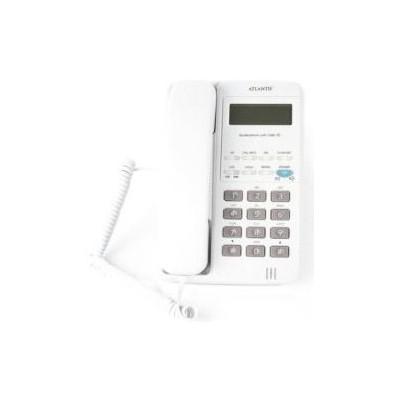 Atlantis 90-beyaz Kablolu Masaüstü Tel 90 Handsfre Lcd Ekran Beyaz Kablolu Telefon