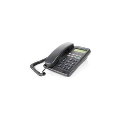 Atlantis 90-sıyah Kablolu Masaüstü Tel 90 Handsfre Lcd Ekran Siyah Kablolu Telefon