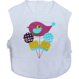 Sevi Bebe 12019 Lüks Giymeli Mama Önlüğü Kuşlu Bebek Besleme
