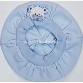 Minidamla Mini Damla 41119 Hayvan Figürlü Bebek Beresi Mavi Şapka, Bere, Kulaklık