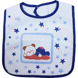 Sevi Bebe 506 Eko Cırtlı  Ayı Mama Önlüğü