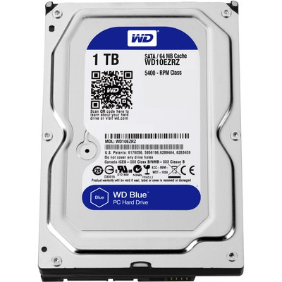 WD 1TB Blue HDD WD10EZRZ Hard Disk