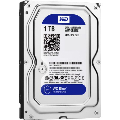 WD Blue 1TB Hard Disk (WD10EZRZ)