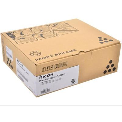Ricoh SP 200HE 2600 Sayfa Siyah - 407262 Toner