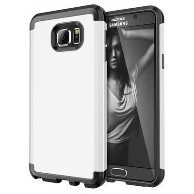 Microsonic Samsung Galaxy Note 5 Kılıf Slim Fit Dual Layer Armor Beyaz Cep Telefonu Kılıfı