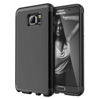Microsonic Samsung Galaxy Note 5 Kılıf Slim Fit Dual Layer Armor Siyah Cep Telefonu Kılıfı