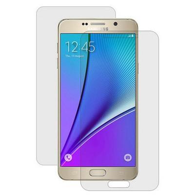 Microsonic Samsung Galaxy Note 5 Ön + Arka Kavisler Dahil Tam Ekran Kaplayıcı Film Ekran Koruyucu Film