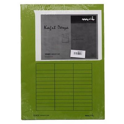 Yener Moii Kağıt  230 X 314 Mm 120 Gr 10'lu Paket Dosya