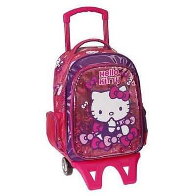 Hello Kitty 86004-ym Çekçek Çanta Sırt Çantası