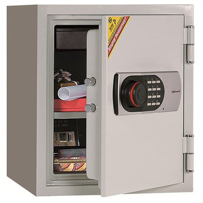 Eurosafe Elektronik Şifreli Kasa Yangına Dayanıklı Model 125EN Para Kasaları