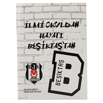 Keskin Color A5 Beşiktaş Kılavuz Çizgili Güzelyazı Defteri 40 Yaprak Beşiktaş Ürünleri