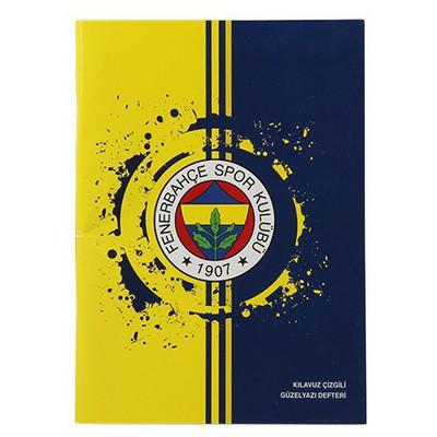 Keskin Color A5 Fenerbahçe Kılavuz Çizgili Güzelyazı Defteri 40 Yaprak Fenerbahçe Ürünleri