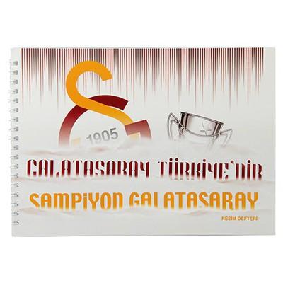 Keskin Color Galatasaray 17x25cm Resim Defteri 15 Yaprak