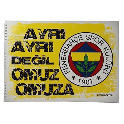 Keskin Color Fenerbahçe 25x35cm Resim Defteri 15 Yaprak Fenerbahçe Ürünleri