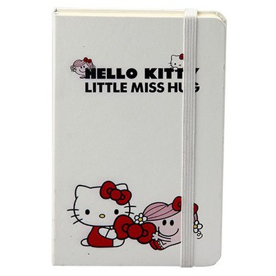 Keskin Color 9 X 14 Cm Lastikli Çizgili Not Defteri Hello Kitty