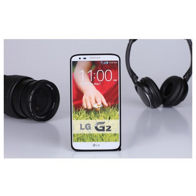 Microsonic Lg G2 Ultra Thin Metal Bumper Kılıf Siyah Cep Telefonu Kılıfı