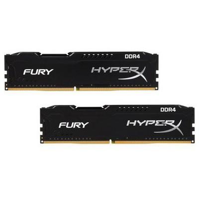 Kingston HyperX Fury 2x4GB Bellek - HX426C15FBK2/8