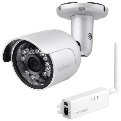 Edimax Ic-9110w Hd Wi-fi Kücük Dış Ağ Kamerası, 139° Geniş Görüş Açısı, Gündüz & Gece Güvenlik Kamerası